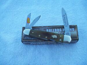 Bulldog Brand 3 Blade Whittler Knife #BDG-116OX Ox Horn Handles 1 of 300 NIB