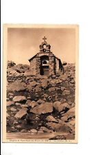 BF16136 chapelle de notre dame des monts lac d allos france  front/back image