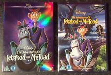 ADVENTURES OF ICHABOD & MR TOAD DISNEY DVD & LTD ED SLEEVE NEW & SEALED