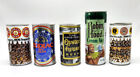 Lot of Five (5) Vintage Beer Cans - Iron City, Robin Hood, Zodiac, Oyster House