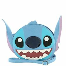 Lilo and Stitch Stitch Face Faux Leather Cross Body Bag Standard