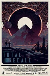 Total Recall Limited Edition Poster Matt Ferguson Grey Matter Art 24x36 PP