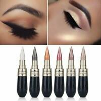 6 Colors Novel Eyeliner Eyeshadow 2 in 1 Eye Makeup Pencil Metallic Shimmer HOT