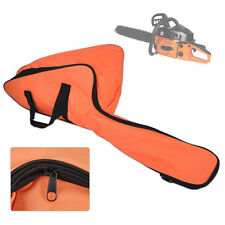 Portable Orange Oxford Chainsaw Carrying Bag Case Protective Holdall Holder Box