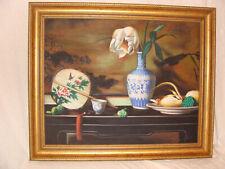 Peinture chinoise originale signée 20ème siècle