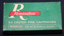 Original Vintage Remington 9mm Luger Automatic Pistol Empty Cartridge Box