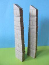 PLaymobil mujer ronda la torre 2 pieza conector final 3666 Castillo 3665