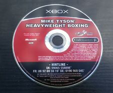 MIKE TYSON HEAVYWEIGHT BOXING : JEU Microsoft XBOX (disque seul / loose)