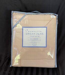 $220 Wamsutta Dream Zone PINK King Bed Blanket 100%Premium Staple Cotton NIP