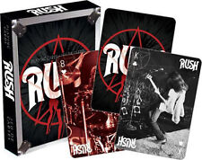 RUSH - VINTAGE - PLAYING CARDS - 52 CARD DECK NEW MUSIC BAND 52290