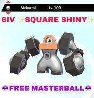 ✨Square Shiny✨ 6IV Melmetal Pokemon Sword and Shield