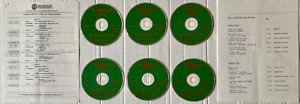 The BBC Beatles Tapes  1990 US 6x CD  Original Masters Westwood One Radio Show +
