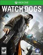 Watch Dogs Microsoft XBox One Game, 2014 Great Condition Adult Played