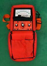 Vintage Simpson 260 Series 9sp Volt Ohm Milliammeter