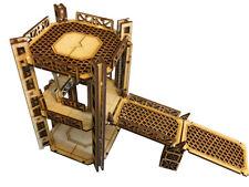 Industrial Tower A3 -  2 Level Rig Platform - Wargaming Necromunda Warhammer 40k