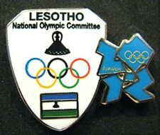 2012 LONDON Olympic LESOTHO NOC Internal team - delegation dated pin