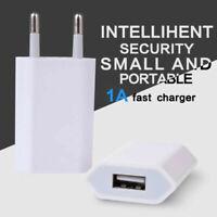 Ladegerät Netzteil USB-Adapter Eu Stecker für iPhone 6 7 8 X XS 11 Pro Max 5V 1A