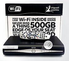 SKY Plus HD Box Wifi Lite - 500gb-AMSTRAD drx890wl WiFi integrata TV on demand
