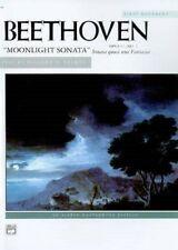 Beethoven Moonlight Sonata Opus 27 No. 2 First Movement 9780739012581