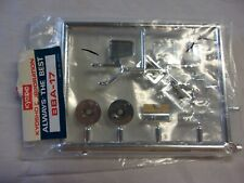 Vintage Nos Kyosho R/C Car Crusher Bba-17 Chrome Parts