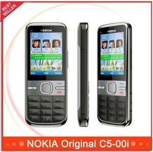 Nokia C5-00i 5MP Bar Style 3G WCDMA Bluetooth Dual Camera Long Stand-byOriginal