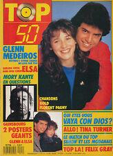 TOP 50 111 (18/4/88) ELSA GLENN MEDEIROS GAINSBOURG TINA TURNER SABRINA SALERNO