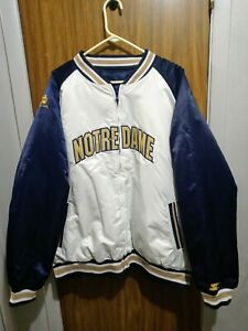 Licensed Notre Dame Starter Reversible Jacket New With Tags. Nice Jacket 2XL