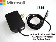 New Genuine Original Microsoft Surface Pro 4 24W 15V 1.6A AC Power Adapter 1735