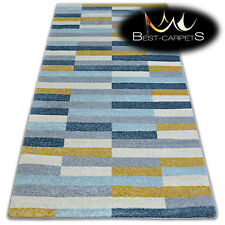 """AMAZING THICK MODERN SOFT RUGS """"NORDIC"""" grey stripes floor carpet small large"""