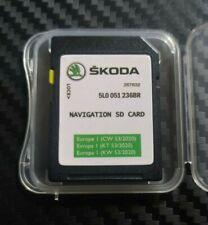 NEU Skoda 2020/2021 32GB MIB2 Discovery Media Navi SD Karte Europa