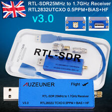 RTL-SDR 25MHz-1.7GHz USB Dongle RTL2832U R820T2 TCXO SMA HF FM PC Tuner Receiver