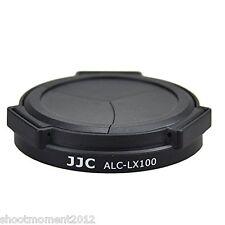 JJC ALC Lx100 Auto Lens Cap for Panasonic Lumix DMC Camera Black