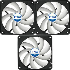3 Pack Arctic Cooling F12 120mm Case Fans 1350 RPM (AFACO-12000-GBA01) AC Artic
