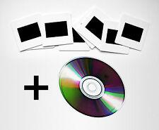 Servizio Sviluppo Dia Pellicola/Rullino 35mm Diapositive a Colori + Scansione CD