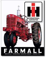 Farmall 400 tractor Metal tin sign farming home garage Wall decor new