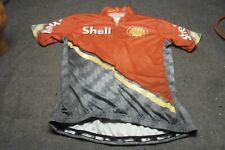 SHELL Logo VOmax Women Cyclist Jersey Size Large Club Good Condition