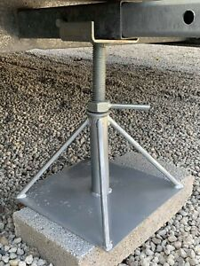 AXLE STANDS FOR STATIC CARAVAN HEAVY DUTY - MOBILE HOME SITING CHASSIS EQUIPMENT