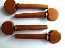 4 molto belle vertebre per violino violino libro Albero Cuore Forma con profilo bianco palla Hill