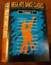 1989 MEGA HITS DANCE CLASSICS VOLUME 7 CASSETTE TAPE