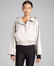 CELINE Hooded Crop Light Gray Jacket TOP Sz 40 new $898