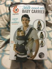 Ergo Baby 360 FOUR POSITION Carrier - CARBON GREY - NEW