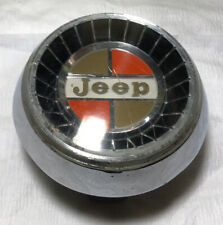1960s/1970s JEEP GLADIATOR/J-SERIES/WAGONEER HORN BUTTON CAP/FLANGE