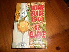 *SIGNED* Webster's Wine Guide 1991 by Oz Clarke Paperback Book