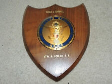 Cool Vintage Army Plaque Battery B 82nd Roger Kimball