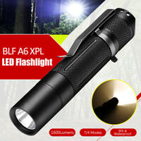 BLF A6 XPL 1600Lumens 7/4modes EDC LED Flashlight Torch IPX-8 Waterproof  ✿