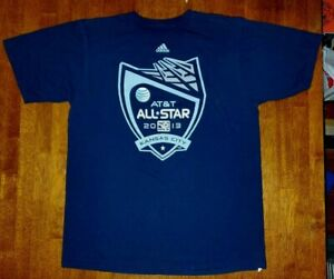 2013 MLS All-Star Game Sporting Kansas City T-Shirt Men's Large Navy Blue Adidas