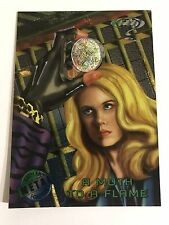 1995 DC Comics Batman Forever Metal Trading Card #55 A Moth To A Flame