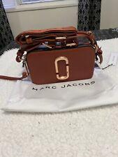 Marc Jacobs Snapshot Small Women's Camera Bag - Brick Color $325
