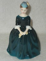 "ROYAL DOULTON Bone China "" CHERIE "" Lady Figurine HN 2341 Copr 1965 Retired"
