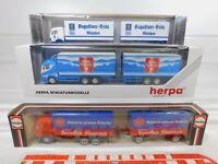 CA300-0,5# 3x Herpa 1:87/H0 LKW Mercedes: Augustiner + 080002 + 811327, NEUW+OVP